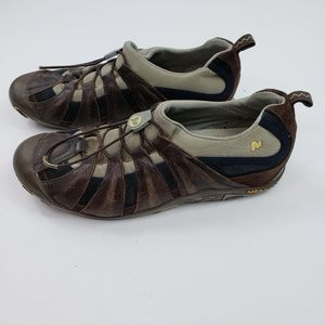Merrell Women 9.5 Hiking Shoes Slip On Cinch